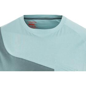 La Sportiva Climbique - Camiseta manga corta Hombre - gris/azul